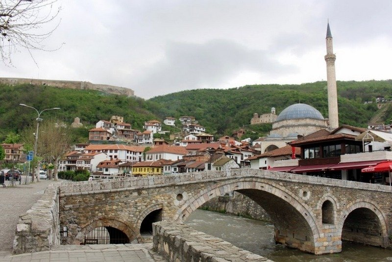 The Old Stone Bridge, unmissable when visiting prizren