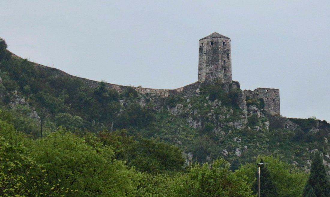 A view of the castle of Počitelj