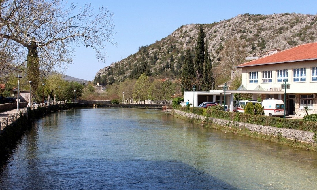 A view of peaceful Stolac in southern Bosnia
