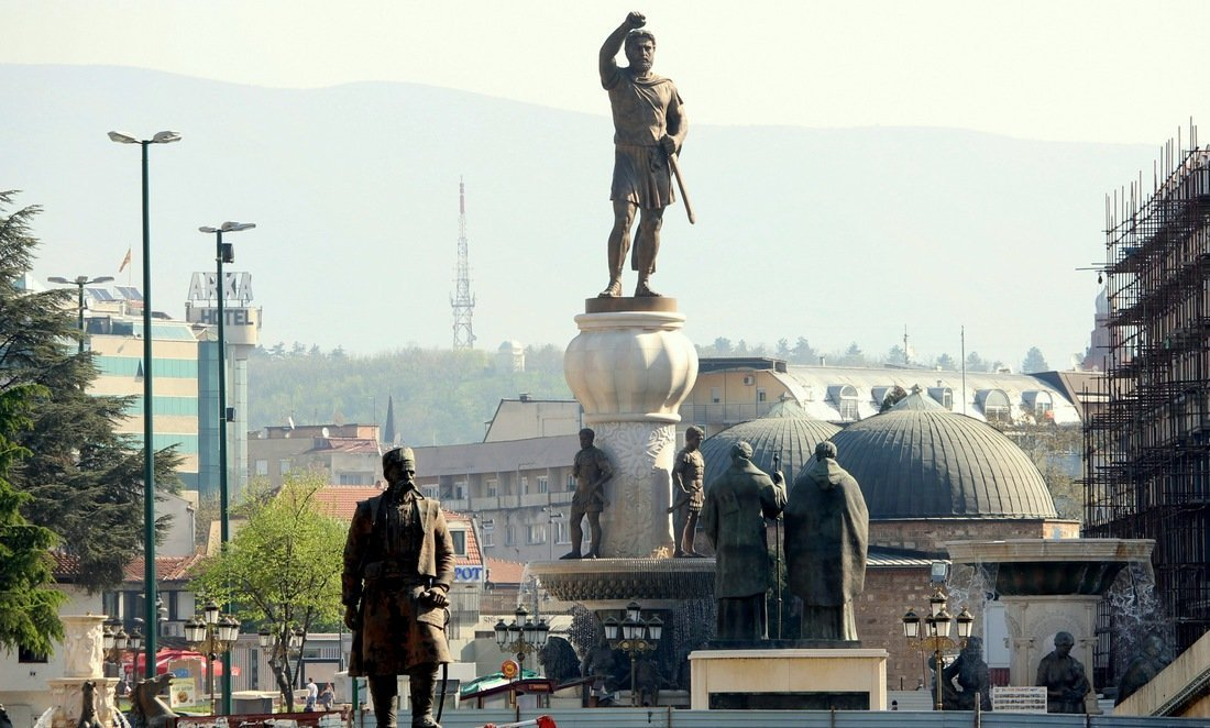 Many monuments in the city - Visit Skopje