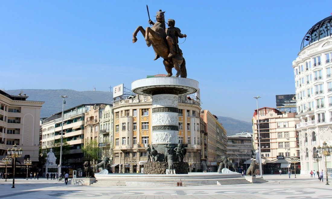 Macedonia Square in Skopje, is amongst the top places to visit in Macedonia