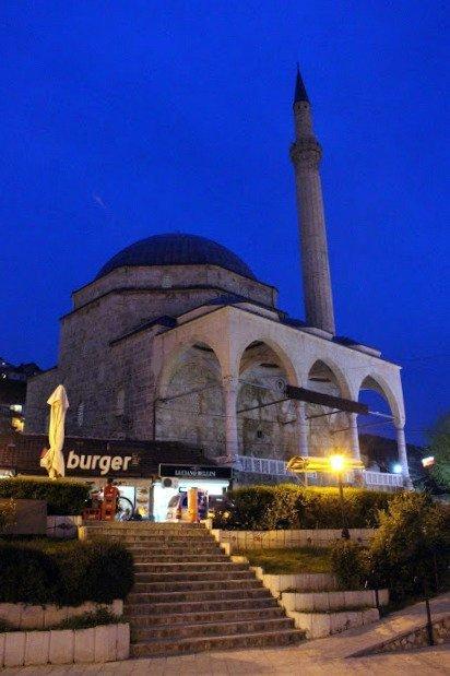 Sofi Sinan Pasha Mosque, seen whilst visiting Prizren