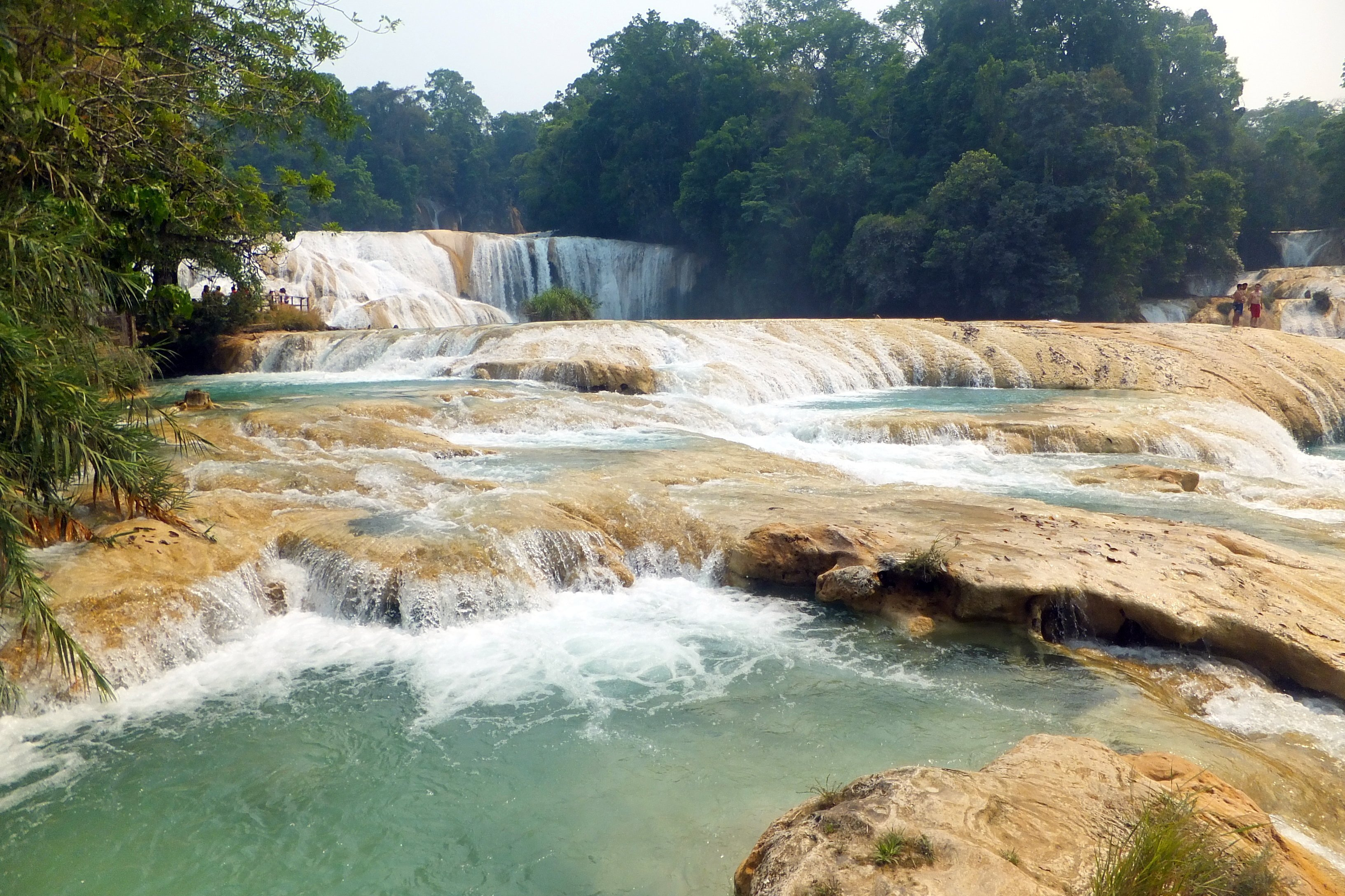 The waterfalls of Agua Azul - A photo blog of Mexico