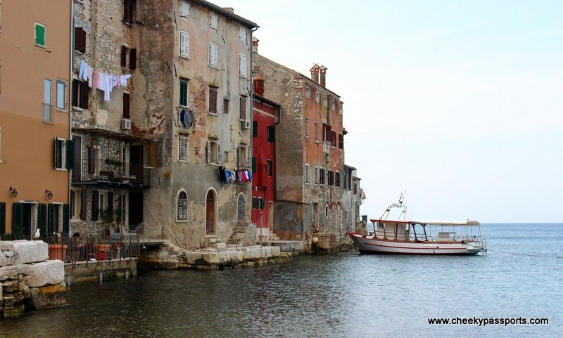 part of the od town of Rovinj