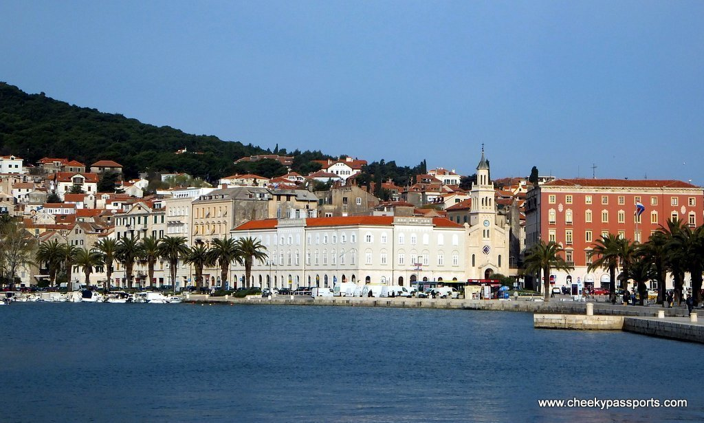 the beautiful harbour a good reason to visit Split
