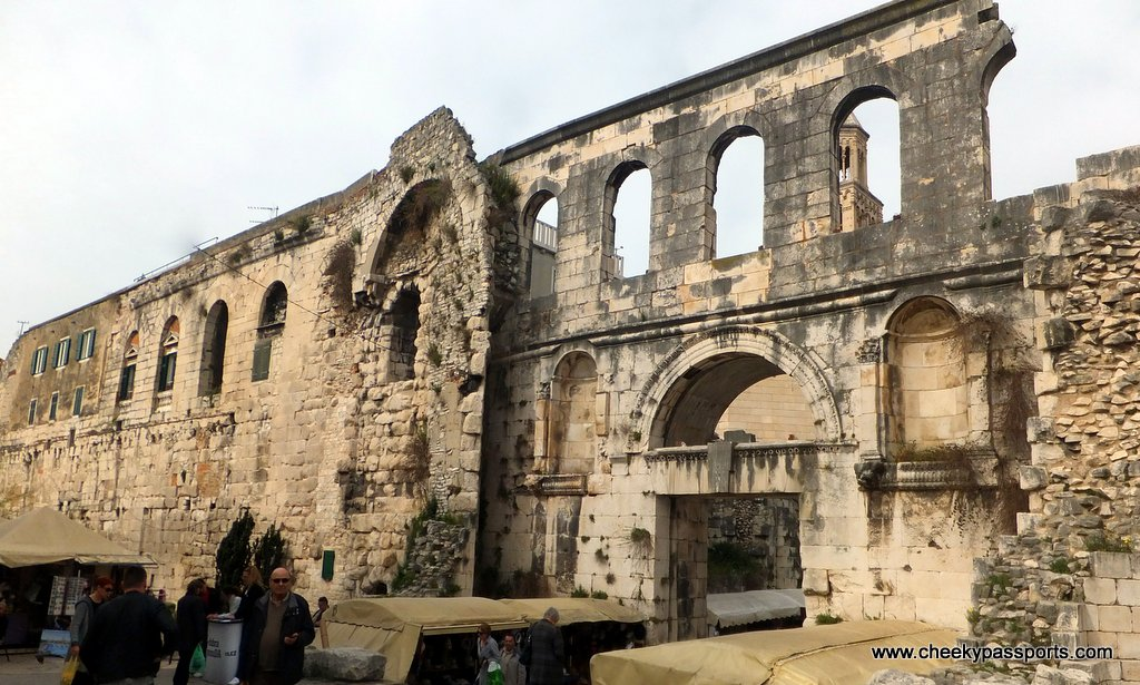 part of Diocletian's Palace - a must see when you visit slpit