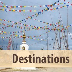 tab leading to destinations page at cheekypassports website