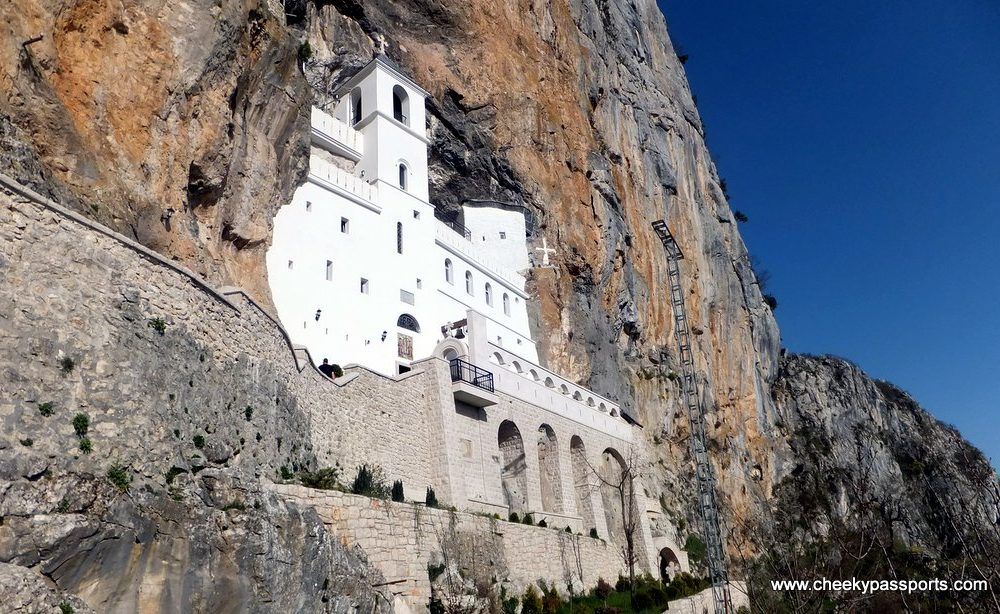 Nikšić and Ostrog Monastery in Montenegro