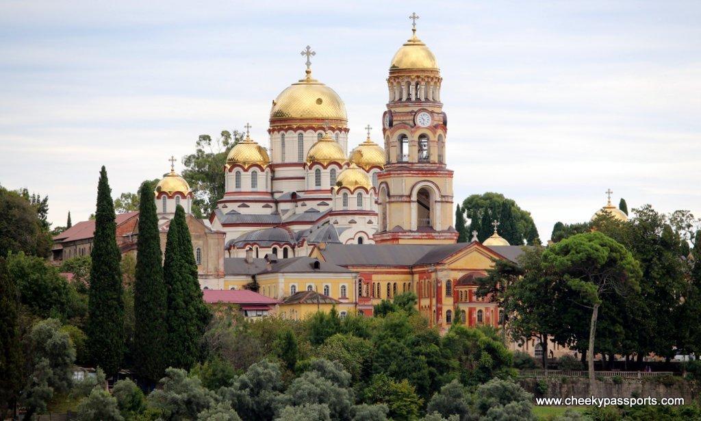 New Athos Monastery in Abkhazia - Visiting Abkhazia