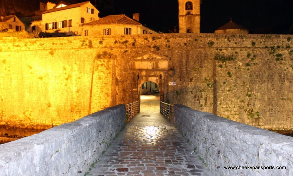The old town walls of Kotor by night - a top reason to visit Montenegro