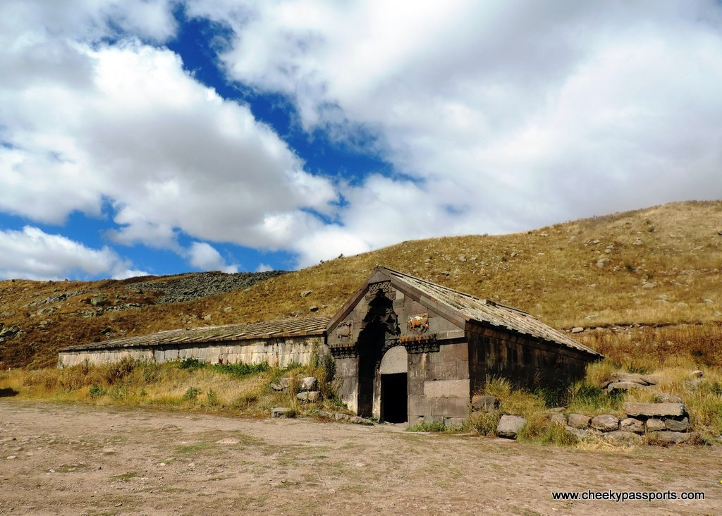 A longitudinal structure used to provide shelter to travellers , amongst the top places to visit in Armenia