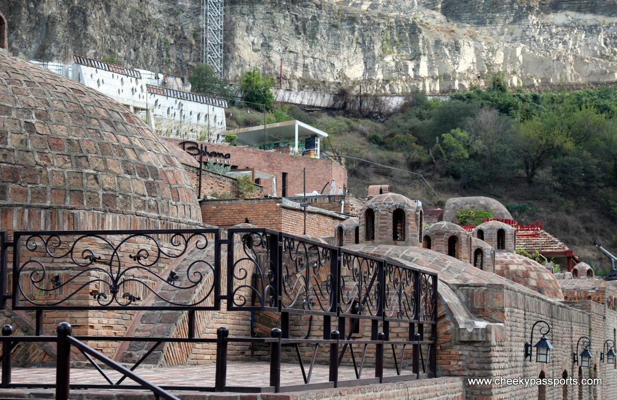 The sulphur baths in the Abanotubani area in Tbilisi - things to do in georgia, europe