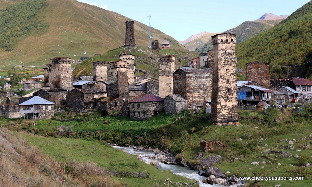 The Svan towers of Ushguli
