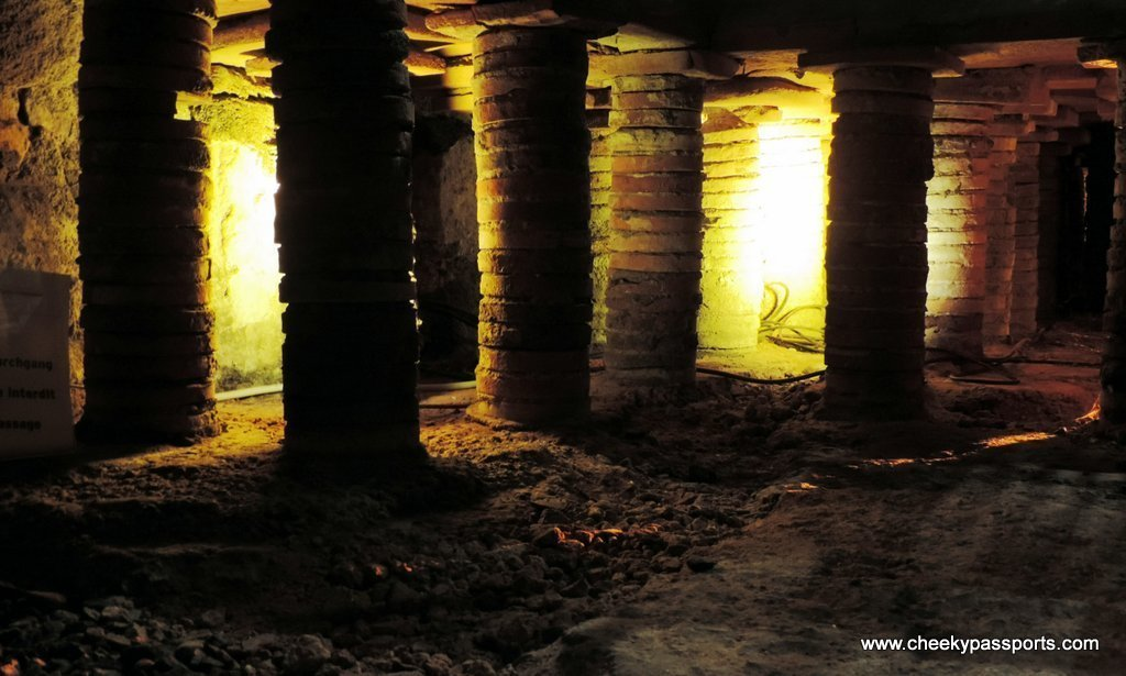Roman Bath Ruins, Baden-Baden - visiting the ruins is one of the recommended things to do in Baden-Baden