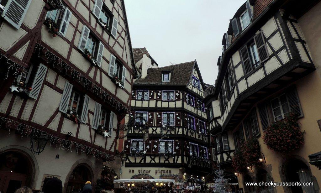 Colmar's beautiful buildings