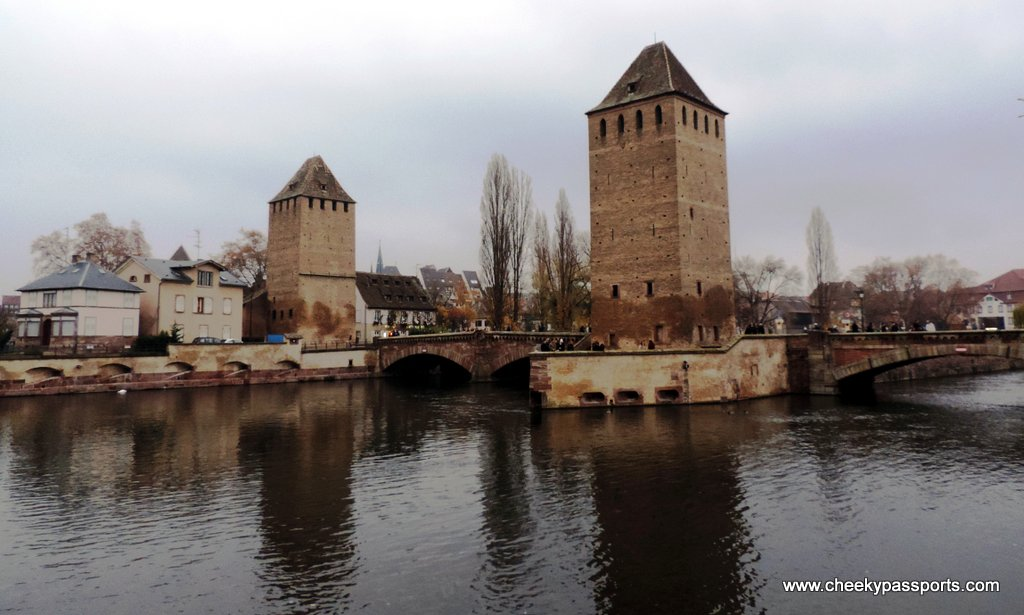 Ancient defence towers, Strasbourg