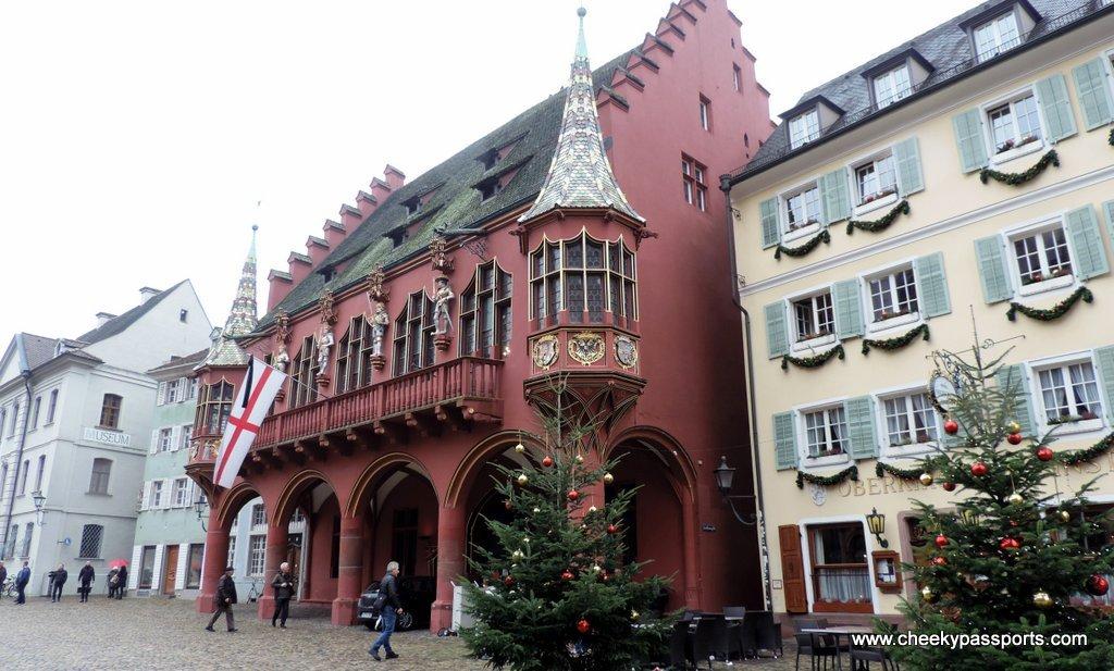 The Town Square, Freiburg Munsterplatz