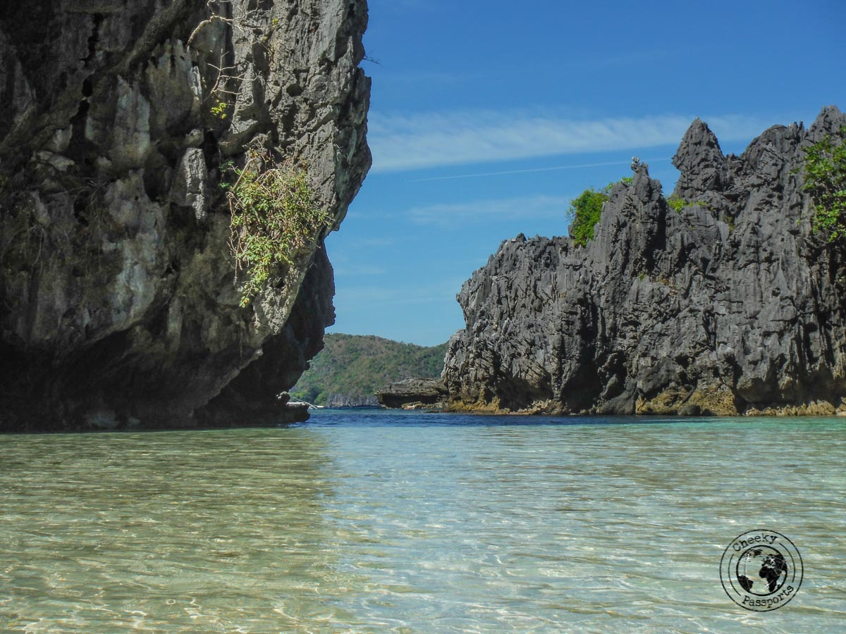 three days in el nido - view of hidden beach, one of the gems of the el nido tour C - traveling to the Philippines tips