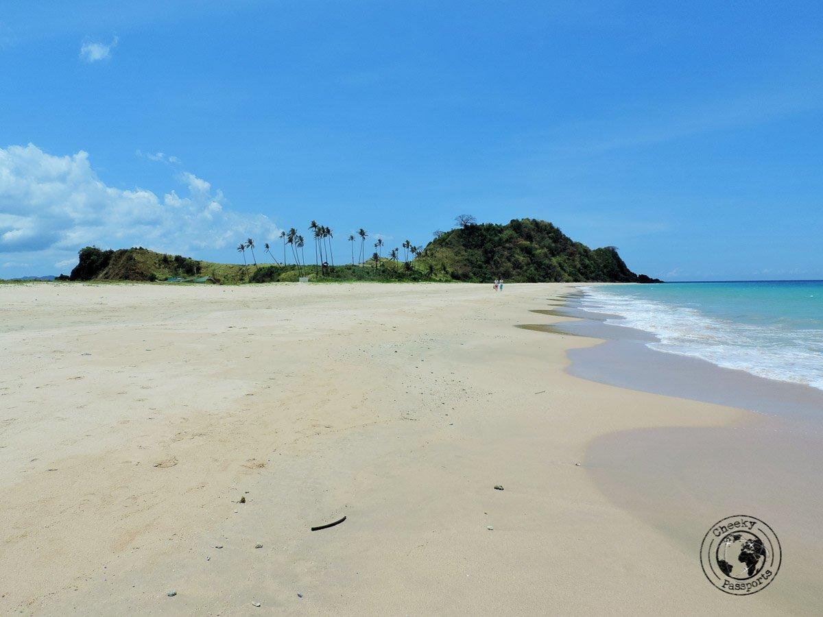 El Nido Itinerary - the sands at nacpan beach