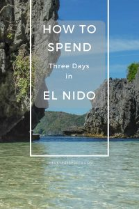 The backpacker town of El Nido lies at the foot of Palawan's cliffs. Use our El Nido itinerary, including the gorgeous Nacpan beach, to plan the best trip! #itsmorefuninthephilippines #philippines #palawan #elnido #boattrip #travel #amazing