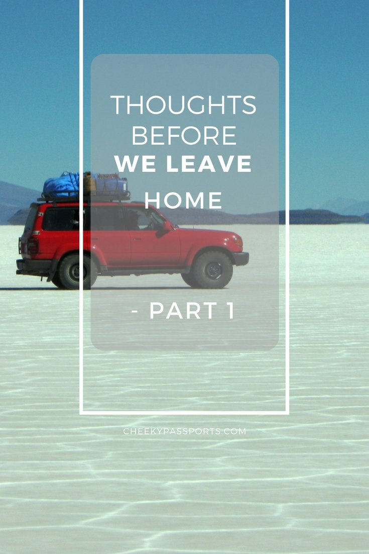 As we prepare to quit our jobs, before we leave home to travel around the world. So many questions running through our heads. Will we enjoy a nomadic lifestyle and all the challenges and discomfort it poses? read about 5 things we're looking forward to (part 1)