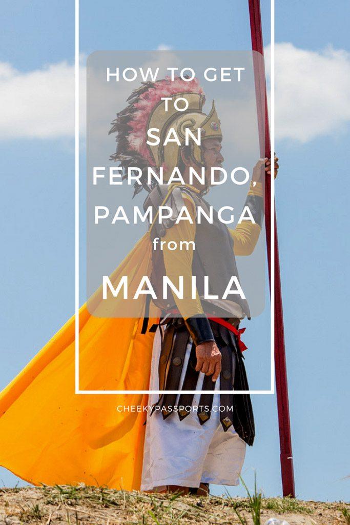 How to get to San Fernando Pampanga from Manila