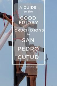 The Maleldo Festivalis a Holy Week re-enactment of Christ's passion, as the Semana Santa is a bid deal in the Philippines. There are three crucifixion sites in San Fernando, the most popular being that in barangay (district) San Pedro Cutud. Warning: Graphic Content!