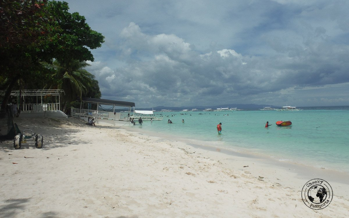 Dumaluan beach - the best and worst of bohol