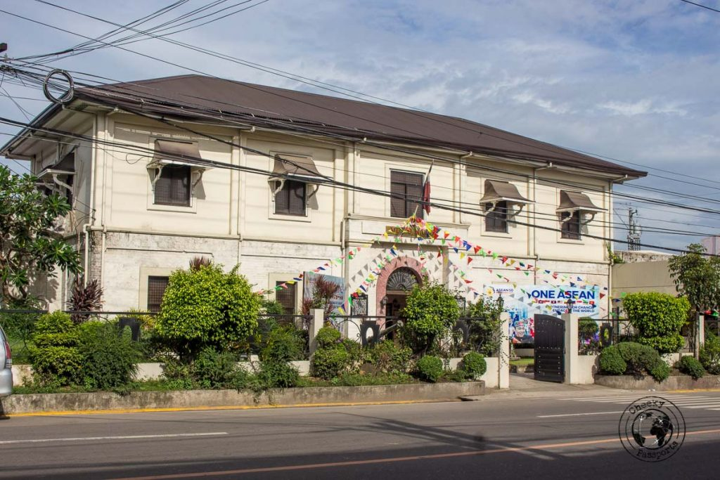 Museo Sugdo along the walking tour of Cebu City