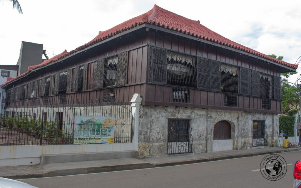 Casa Gorordo Museum along the walking tour in Cebu City
