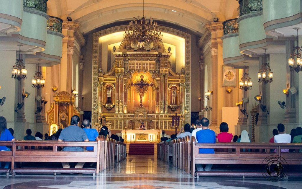 Cebu Cathedral a stop on the Cebu city walking tour