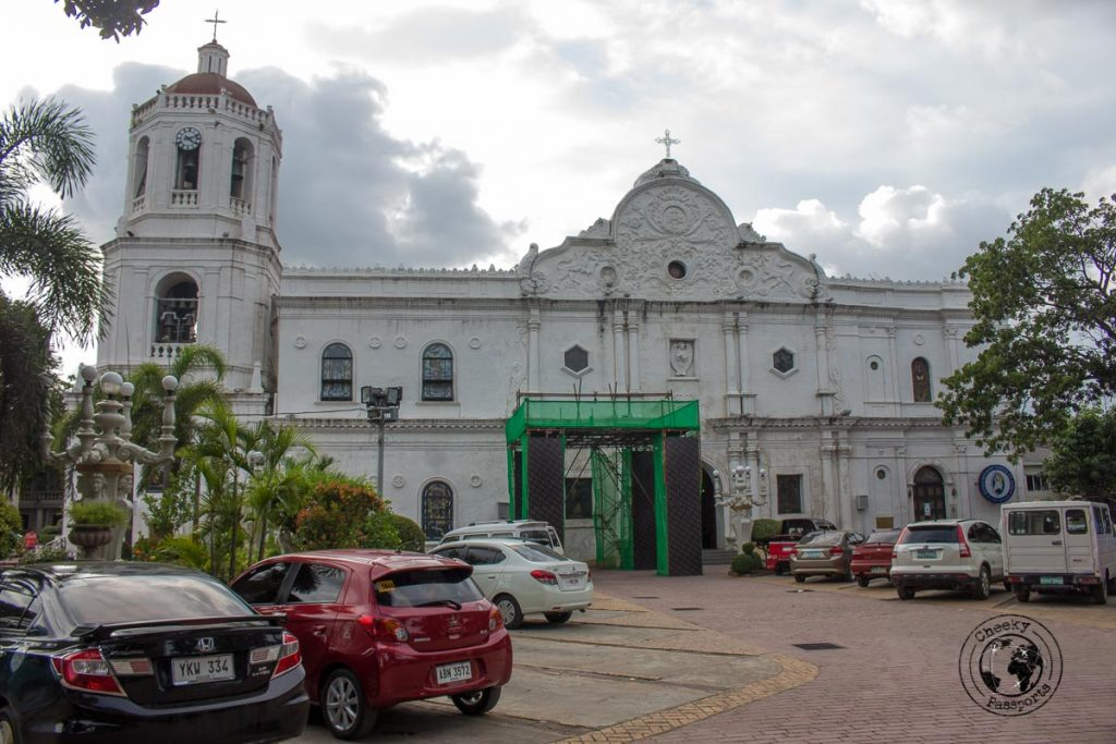Cebu Cathedral on the Cebu city walking tour