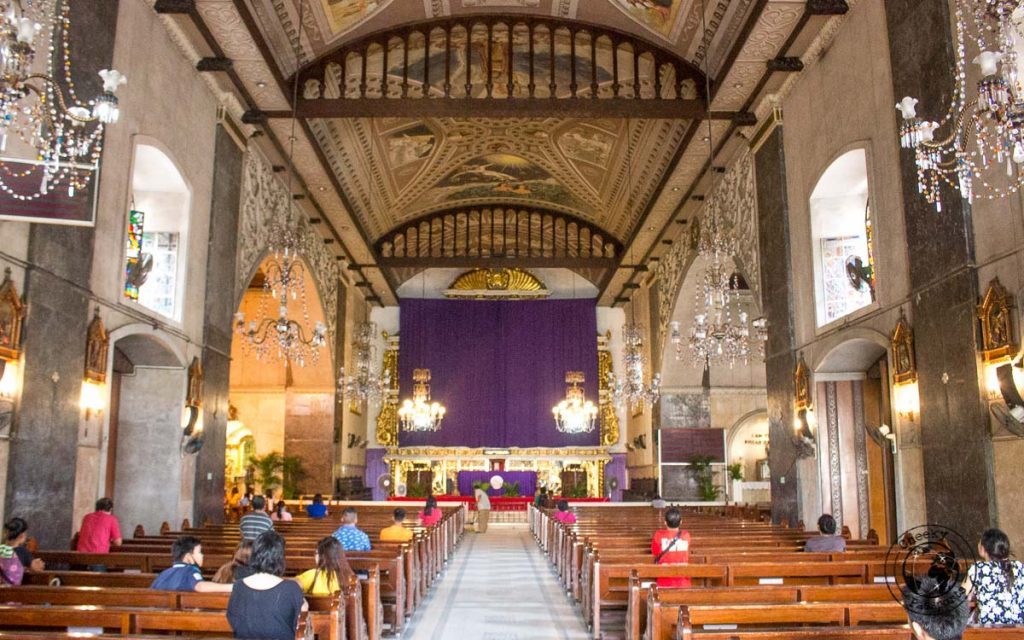 Basilica Minor del Santo Nino, walking tour of Cebu City