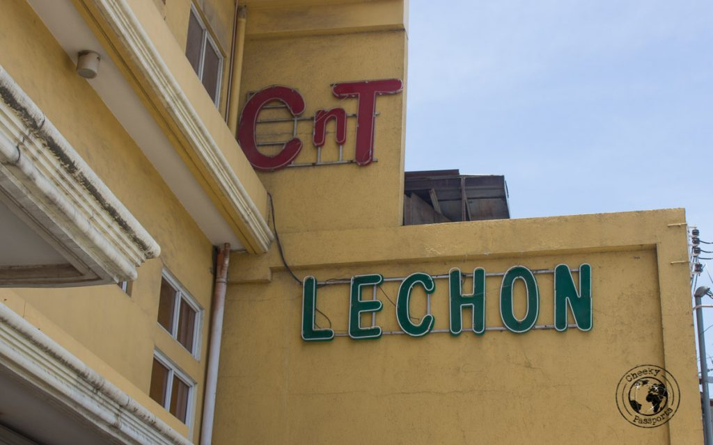 CNT Lechon place while doing a Cebu city walking tour