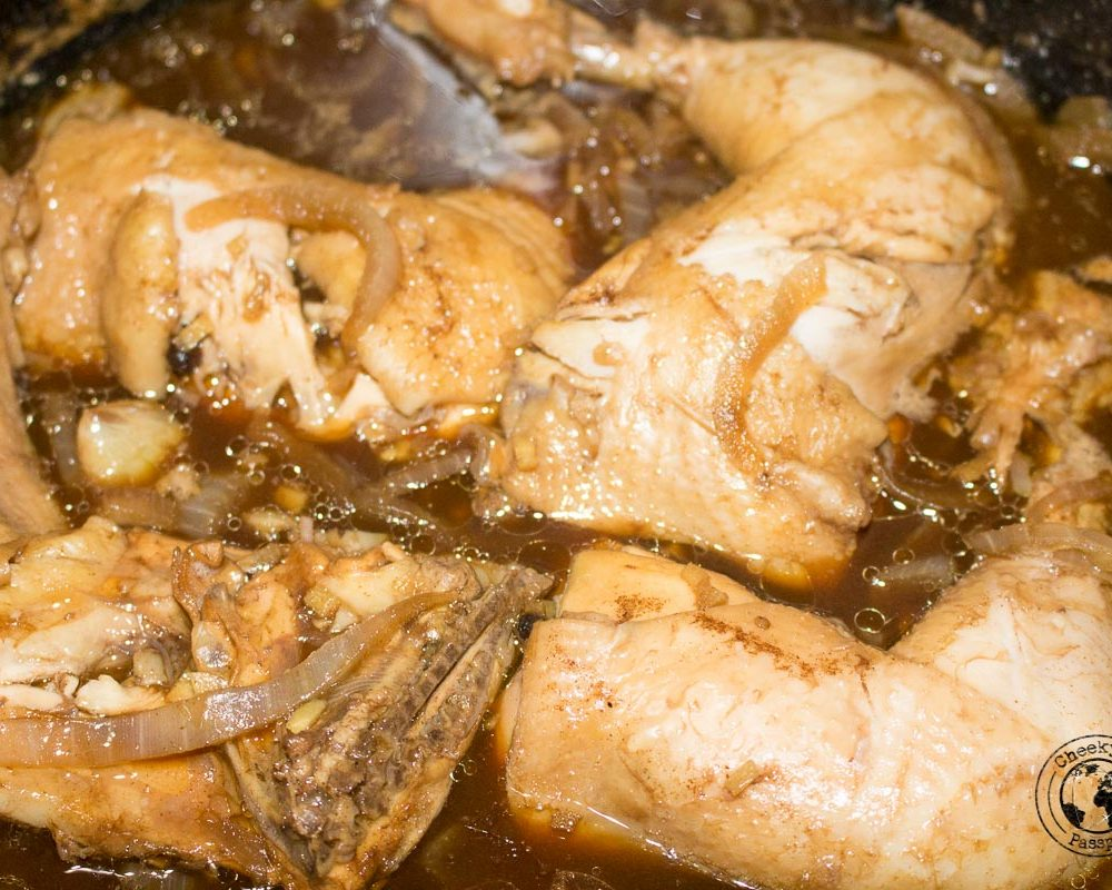 Cheeky Passports' Chicken Adobo Recipe