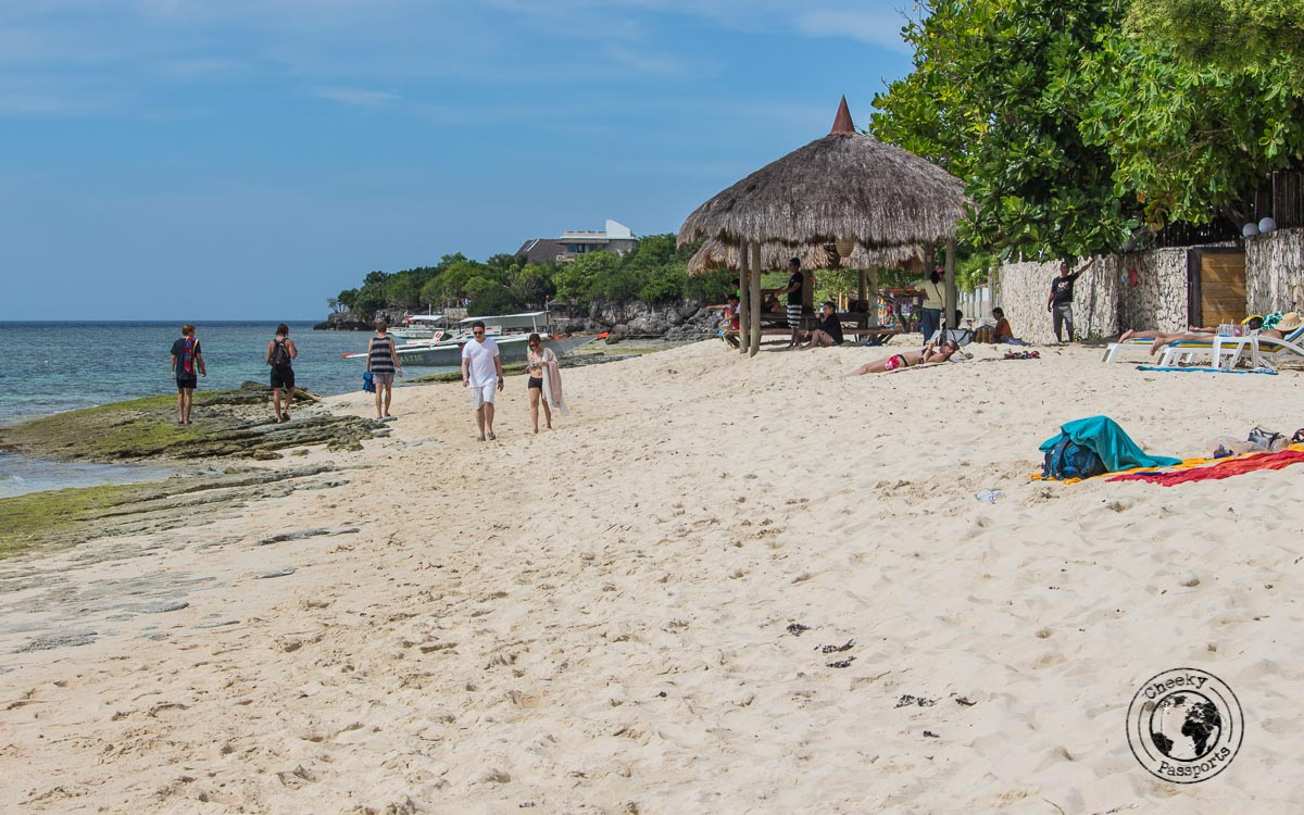 Relaxing on White Beach is one of the most popular things to do in Moalboal