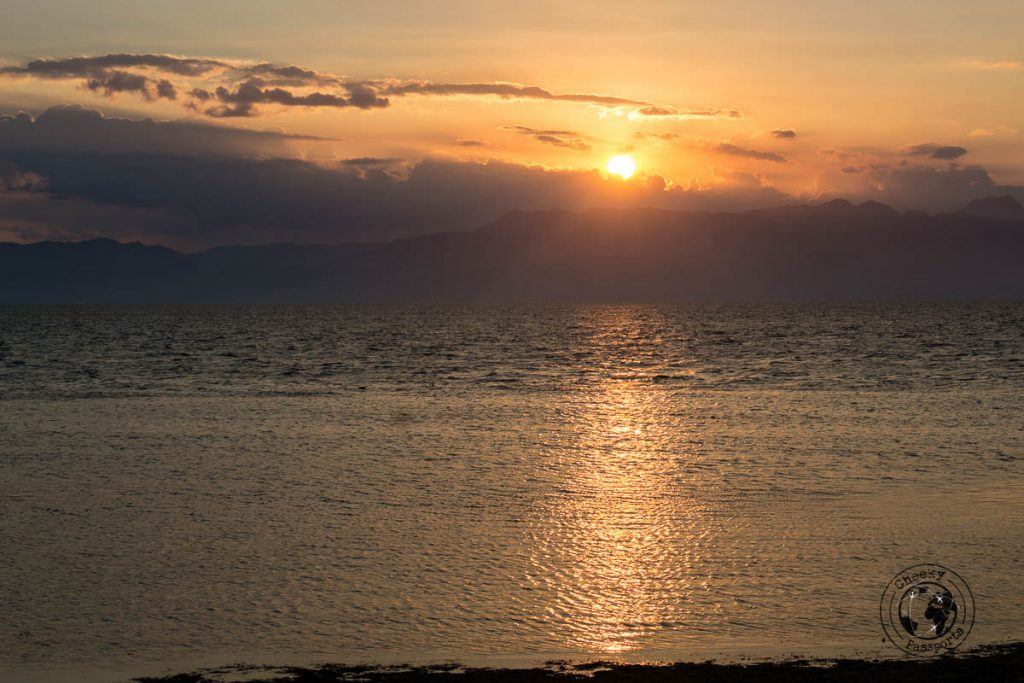 Watching sunset is one of our favourite things to do in Moalboal