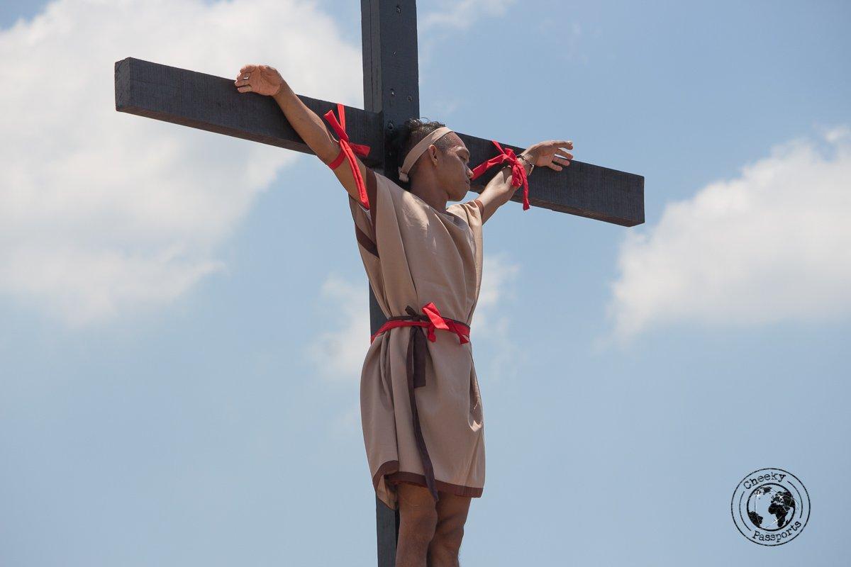 the good thief - crucifixion at san pedro cutud