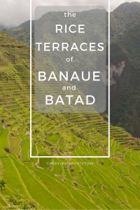 The rice terraces of Banaue and Batad - A CheekyPassports Special