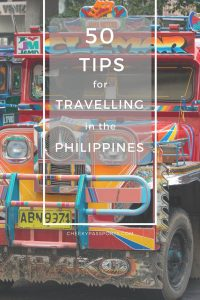 50 Tips for Travelling in the Philippines