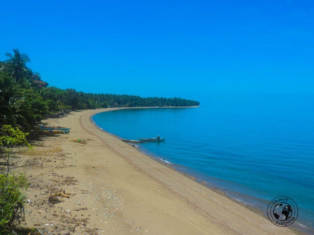 Olango bay in Sibuyan
