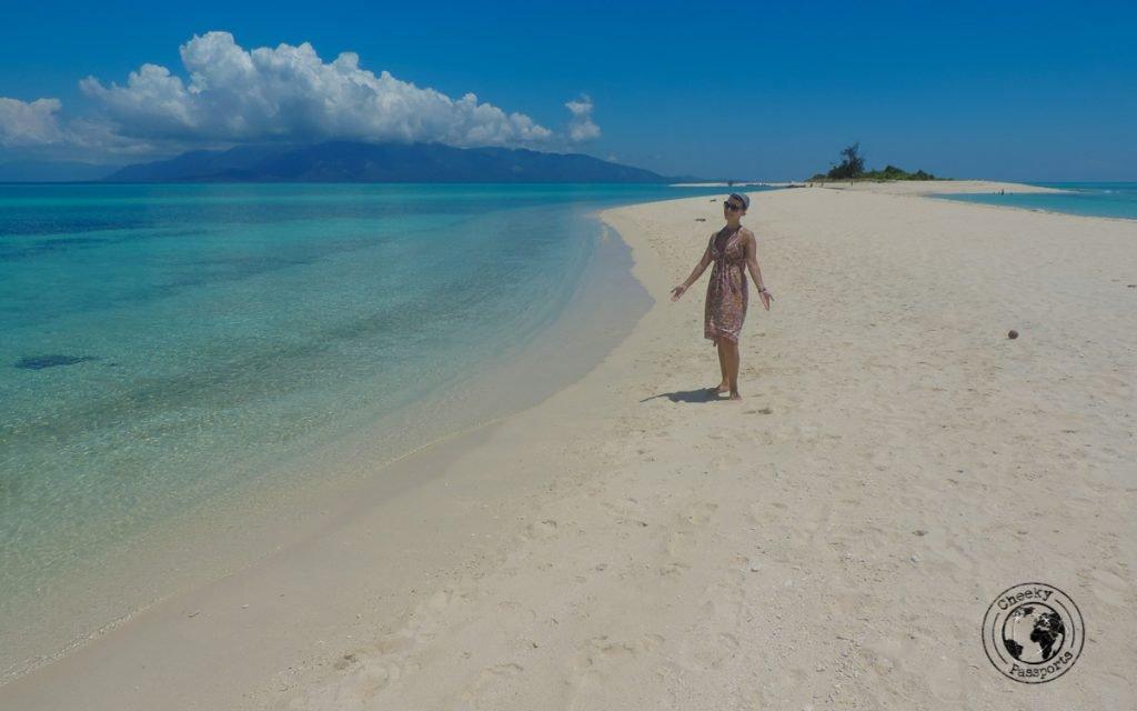Michelle on Isla de Gallo, Sibuyan - Philippines travel tips