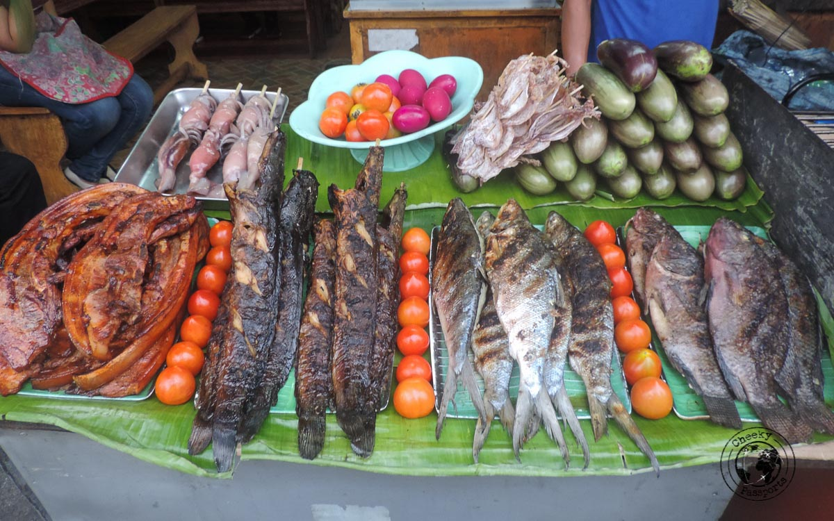 Street food in the Philippines - Philippines Travel expenses and costs