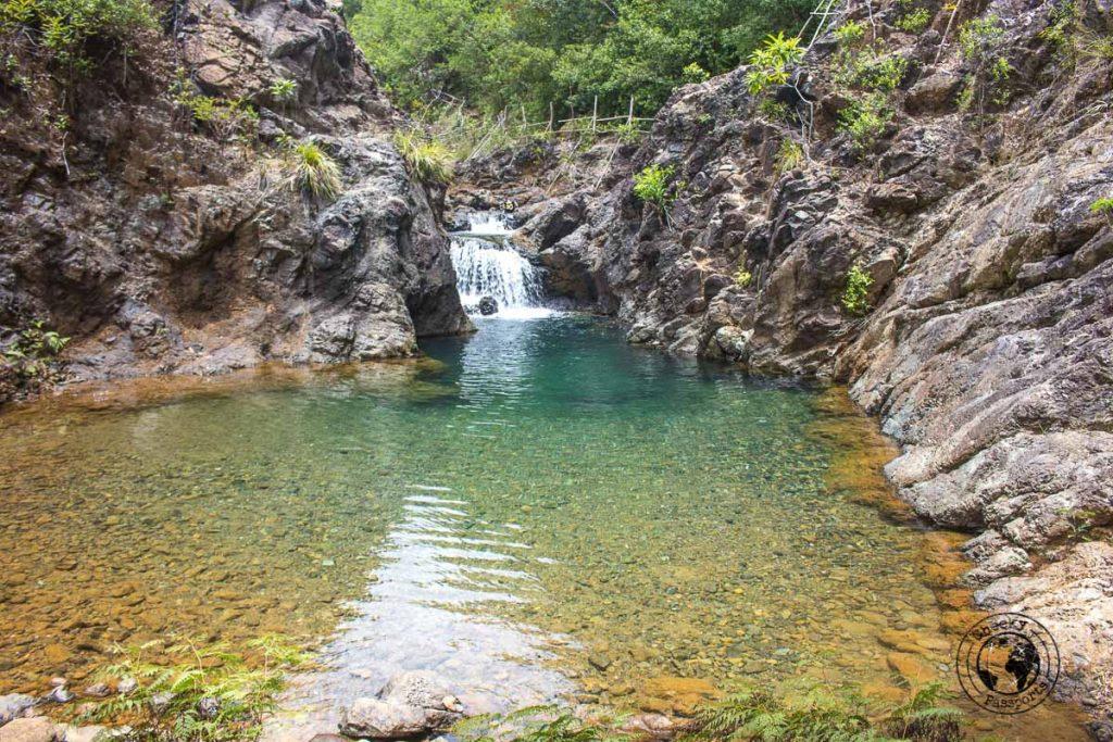 Dagubdob Waterfall in Sibuyan