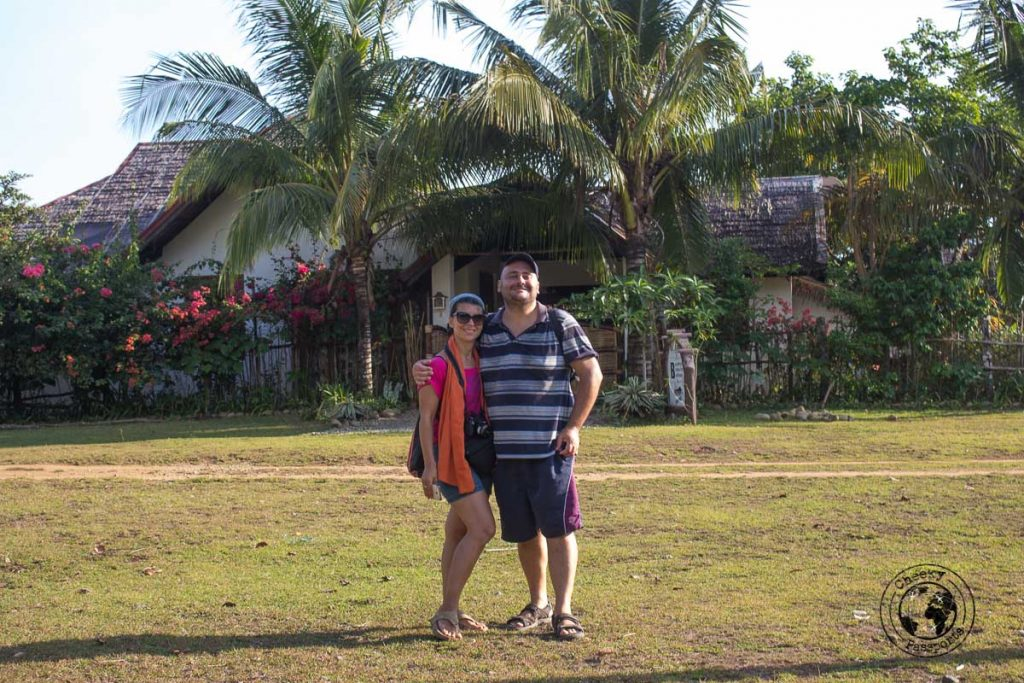 The Boathouse accommodation in Olango bay, Sibuyan. This is where we have managed to book our ferry to Cresta de Gallo island