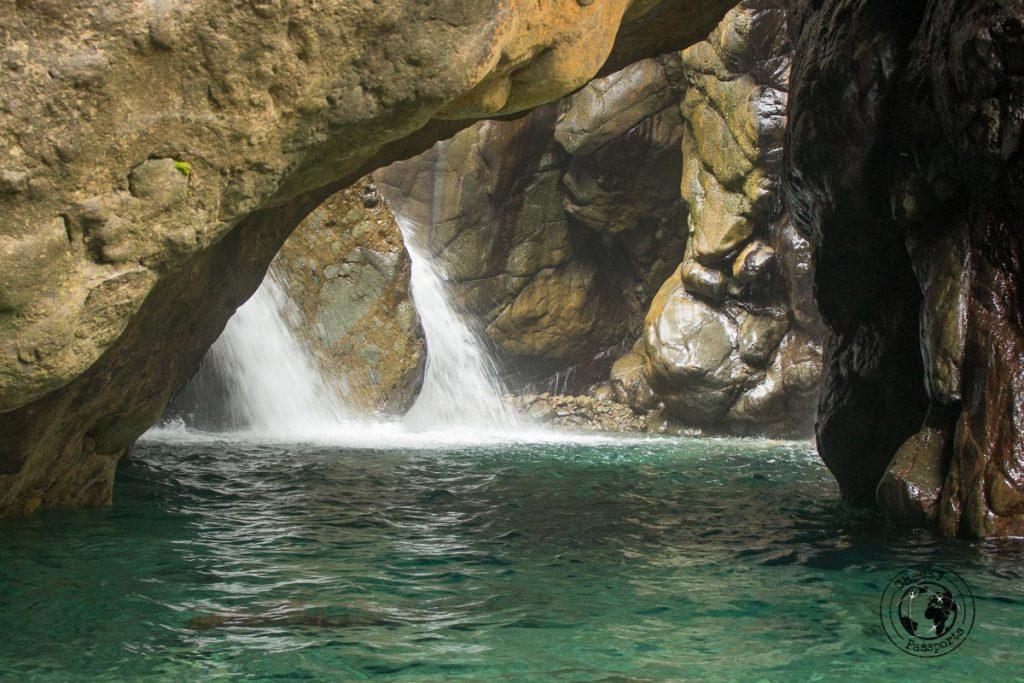 Kweba waterfall in Sibuyan