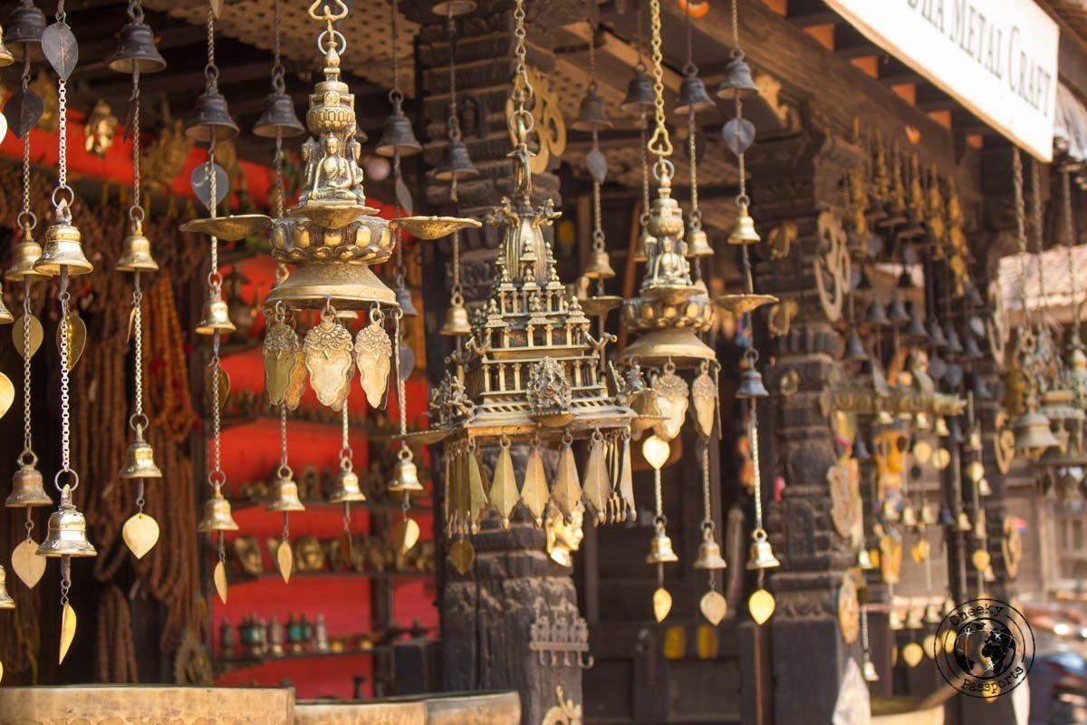Souvenirs at Bhaktapur Durbar Square
