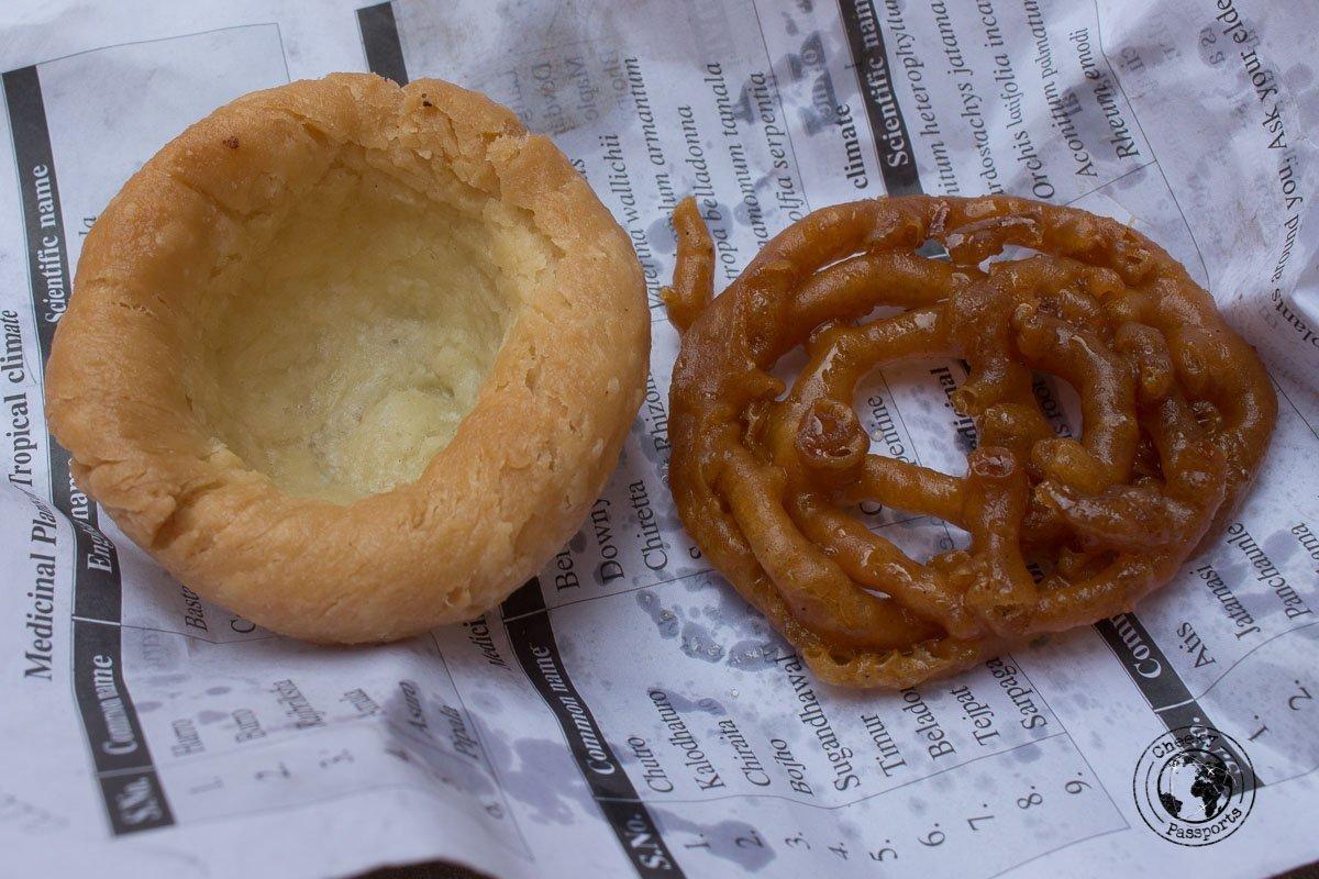 Street Food at Bhaktapur Durbar Square