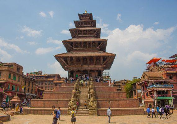 Nyatapola Temple at Bhaktapur Durbar Square