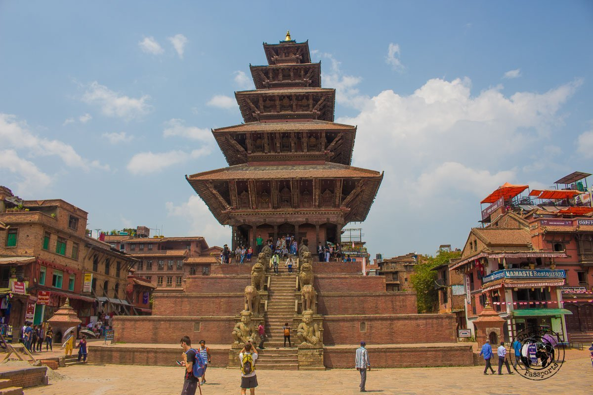 Nyatapola Temple at Bhaktapur Durbar Square